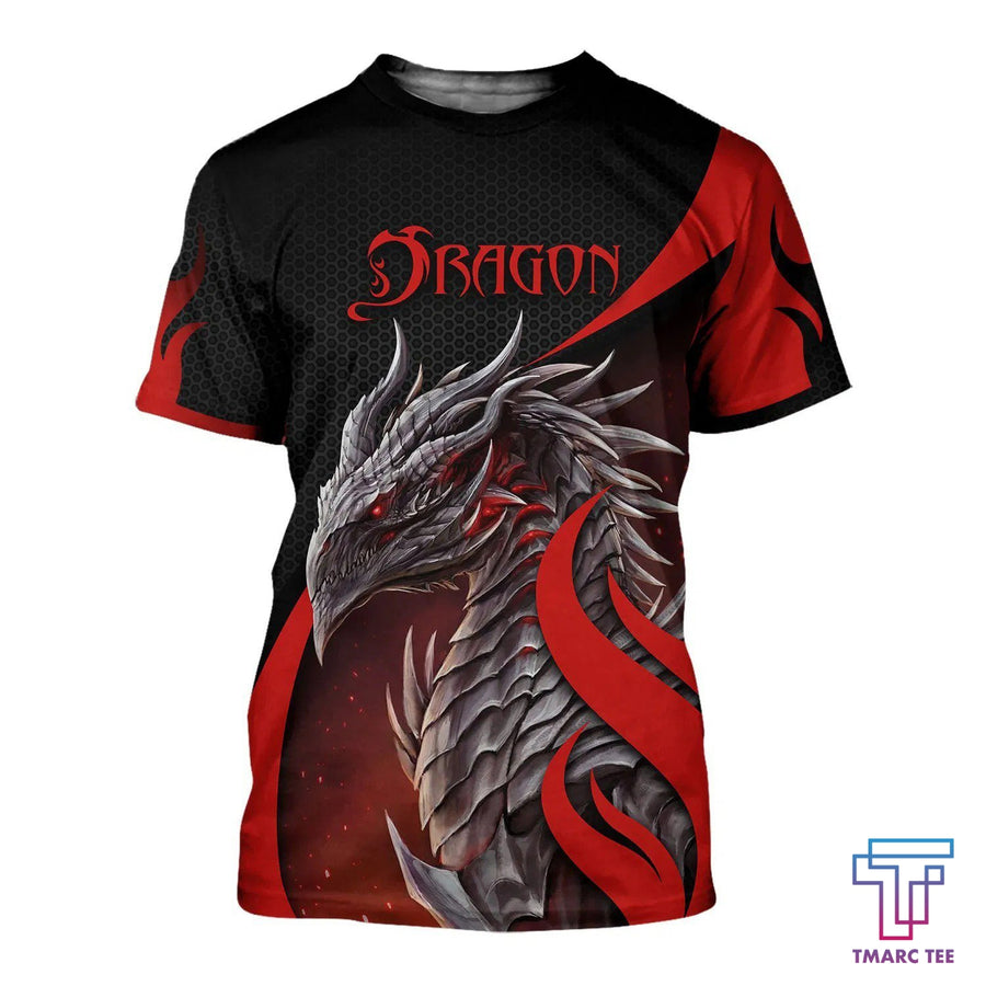 3D Tattoo and Dungeon Dragon Hoodie T Shirt For Men and Women NM050958 - Amaze Style™-Apparel