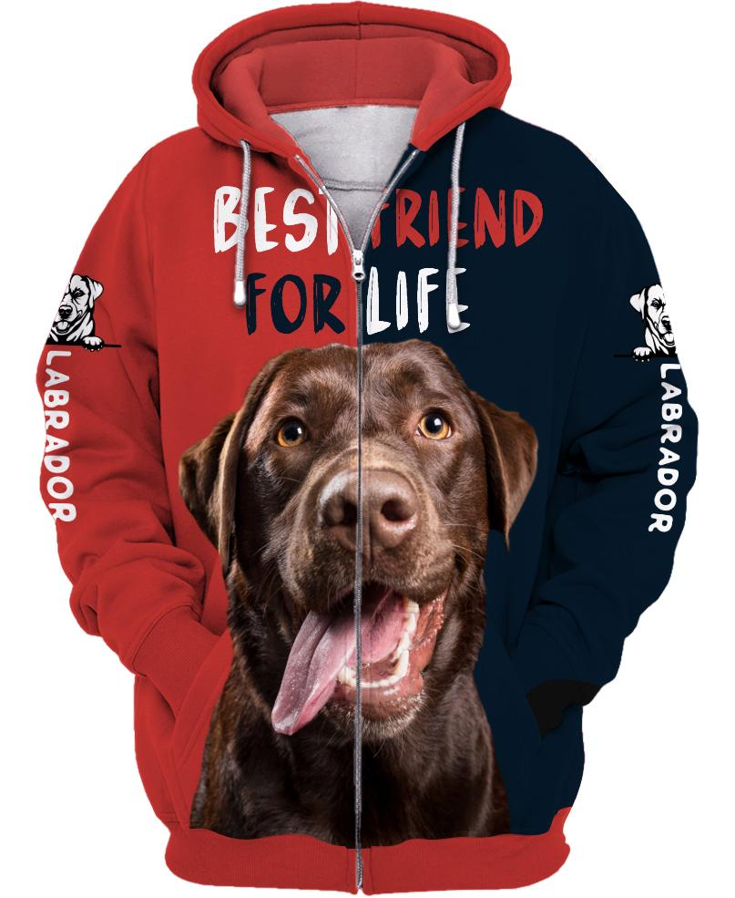 Labrado Retriever - Best Friend 3D Unisex Shirts