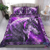 Purple Fantasy Wolf Quilt Bedding Set by SUN QB05282005 - Amaze Style™-Quilt