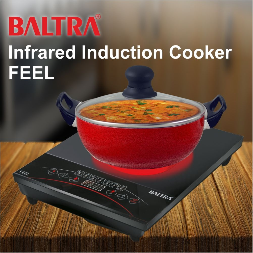 Know More about Baltra Feel (Infrared) 2000 Watt Induction Cooktop