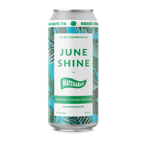 Load image into Gallery viewer, JuneShine x Matchabar Coconut Ginger Matcha