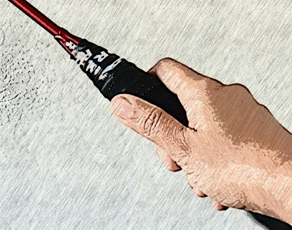 Can racket grip size affect your performance in badminton?