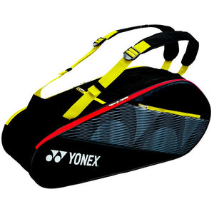Badminton Racket Bag 82026EX black / yellow - Sports Arena
