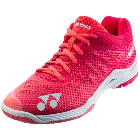 Yonex Aerus 3 Yonex Badminton Shoes - Women - Rose Color - Sports Arena