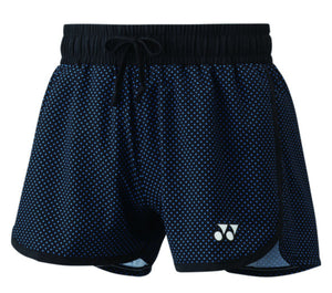 Yonex Short Women - Blue Polyester - Sports Arena