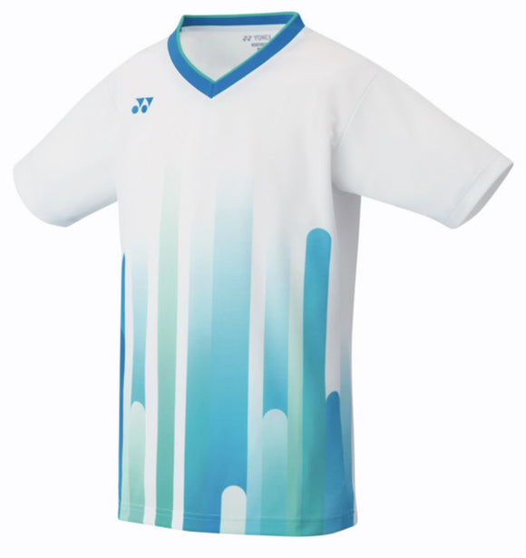 Yonex T-shirt polyester white for kids - Sports Arena