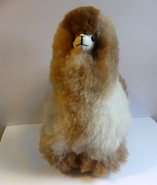 Alpaca Stuffed Toy - Beige Alpaca