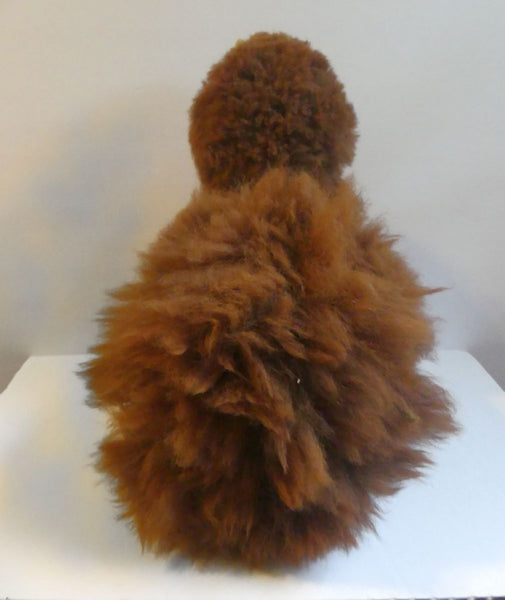 Alpaca Stuffed Toy - Brown Alpaca