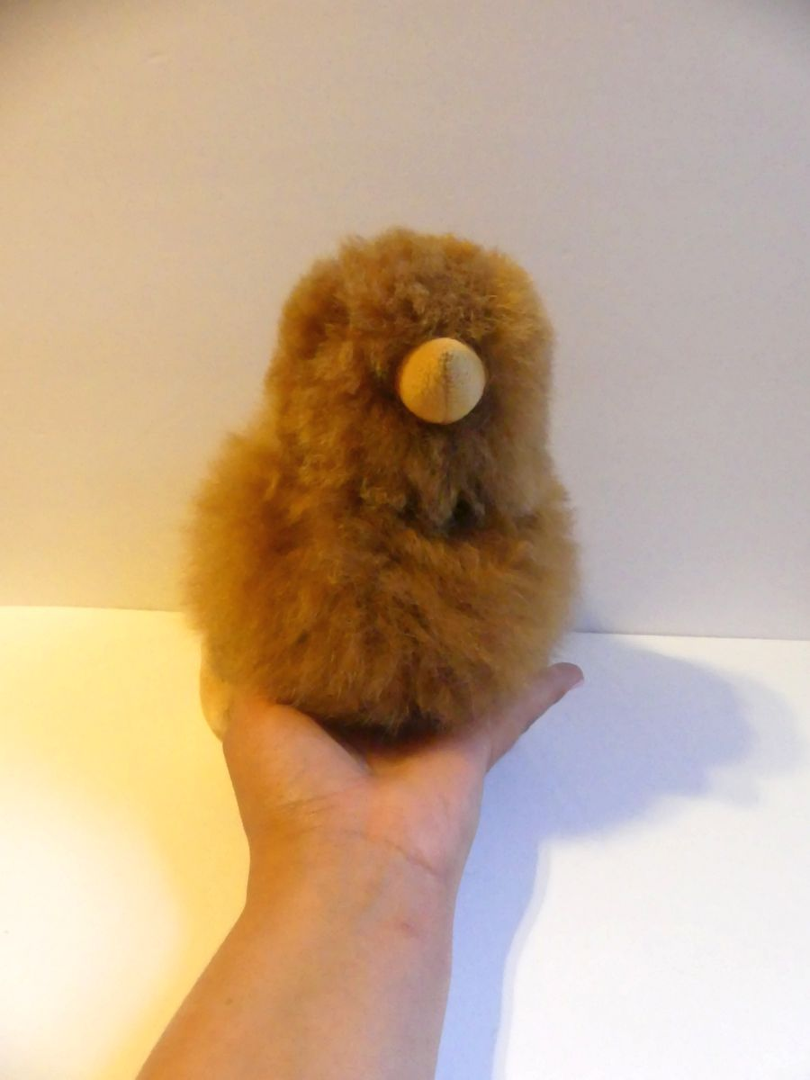 Alpaca Stuffed Toy - Brown Chick