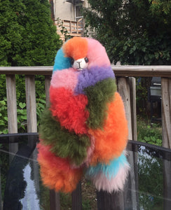 Alpaca Stuffed Toy - Rainbow Alpaca