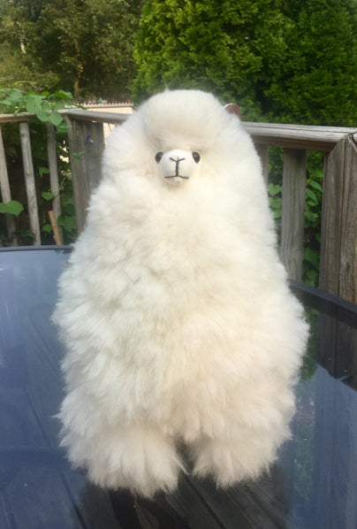 Alpaca Stuffed Toy - White Alpaca