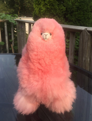 Alpaca Stuffed Toy - Pink Alpaca