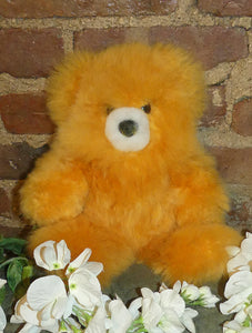 Alpaca Stuffed Toy - Yellow Bear