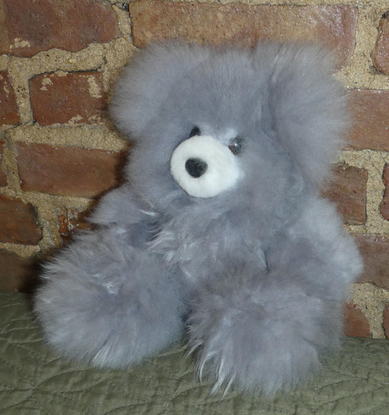 Alpaca Stuffed Toy - Grey Bear