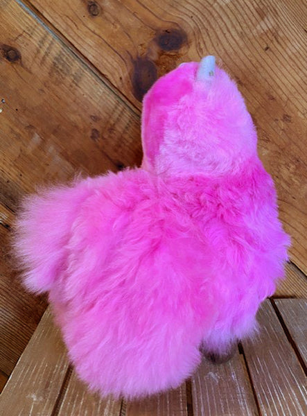 Alpaca Stuffed Toy - Hot Pink Alpaca