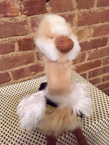 Alpaca Stuffed Toy - Ostrich