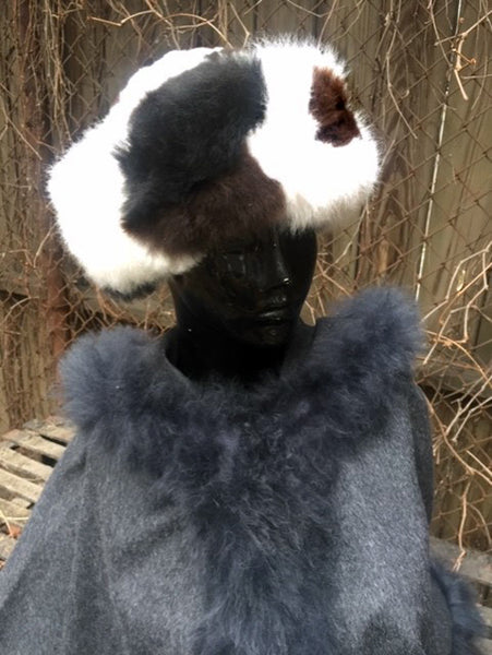 Alpaca Russian Hat - Spotted