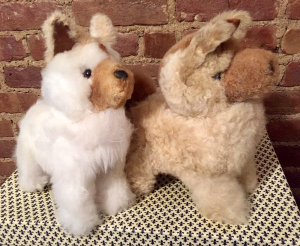 Alpaca Stuffed Toy - Wolf White