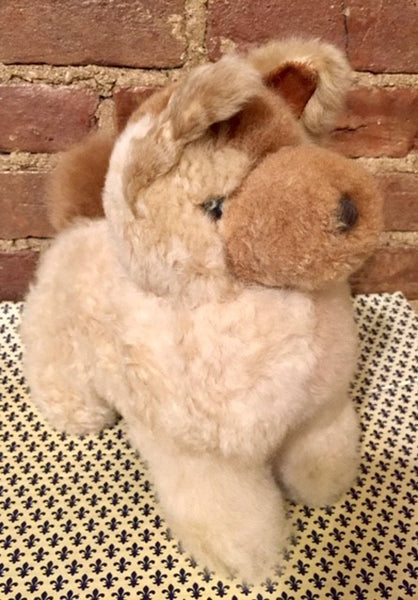 Alpaca Stuffed Toy - Wolf Beige