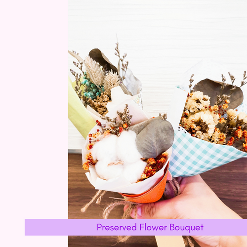 [Add-On] Preserved Flower Bouquet
