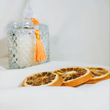 Load image into Gallery viewer, choose crystal with hanging tassle for a pleasing decoration to your home.