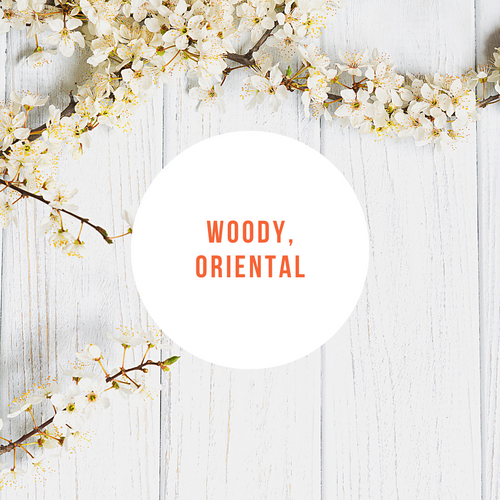 Woody Oriental Classic Mini Candles