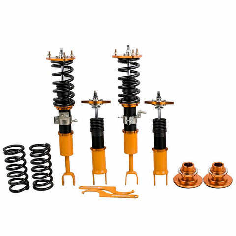 4Pcs Coil Coilovers Struts for Nissan 03-09 350Z Z33 Shock Absorbers Adj. Height AP-PLUS
