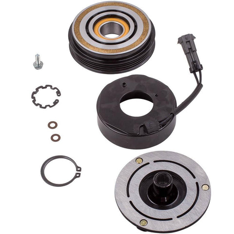 A/C Compressor Clutch Kit for Chevy Silverado Suburban GMC Sierra MaxSpeedingRods