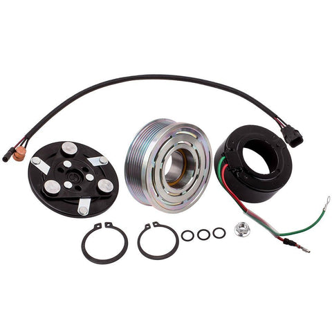 A/C Compressor Clutch Repair Kit fit for Honda Civic 1.8L 2006-2011 MaxSpeedingRods