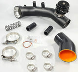BMW N54 Charge Pipe Kit + TiAL Flange + 50mm Bov For E88 E90 E92 E93 135i 335i MD Performance