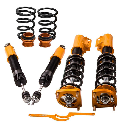 Coilovers Kits for Ford Mustang GT 4.6L 4th 94-04 Adj. Height & Mounts Shocks AP-PLUS