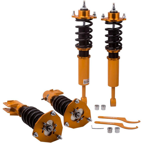 Coilovers Kits for Mitsubishi Lancer Sportback Ralliart Wagon 4-Door Adj Damper AP-PLUS