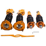 Coilovers Suspension Kits for Mitsubishi Lancer LS Sedan 2002-06 2.0L Adj Damper MaxSpeedingRods
