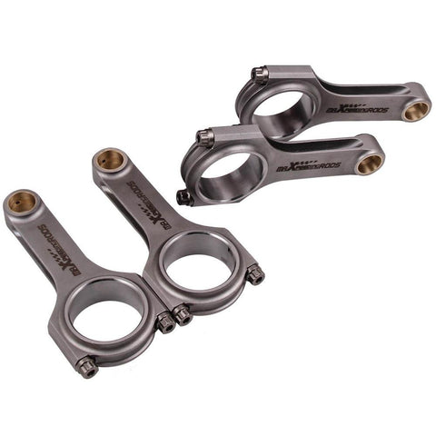 Connecting Rod Rods for Toyota Corolla Celica Carina FX MR2 4AFE 43mm Conrods MaxSpeedingRods