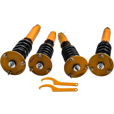 Damper Coilovers For Lexus LS400 XF10 1990-1994 Adj. Height Front x 2 Rear x 2 AP-PLUS