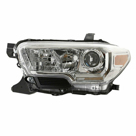 For 2016-2018 Toyota Tacoma Chrome Projector Headlight w/o LED DRL Left Side F1 RACING