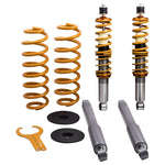 For 98-02 Lincoln Navigator 4WD Air to Coil Springs  Shocks Conversion Kit MaxSpeedingRods