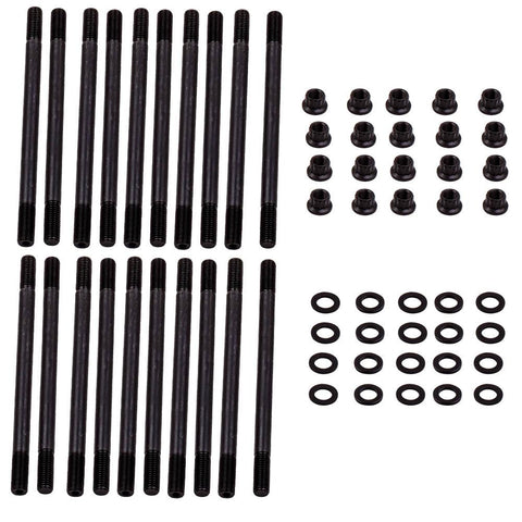 For Ford 6.0L Power Stroke Diesel Head Stud Kit Powerstroke Quality 250-4202 MaxSpeedingRods