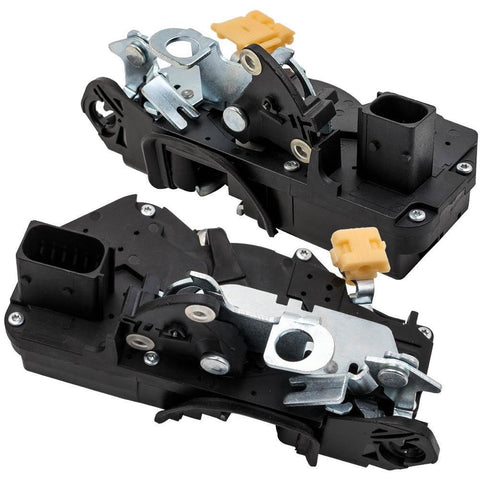For GMC Sierra Escalade Silverado 2007 Pair Door Lock Actuator Front Left Right MaxSpeedingRods