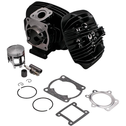 For Yamaha Blaster 200 Cylinder Head Piston Gasket Top End Rebuild Kit 1988-2006 MaxSpeedingRods