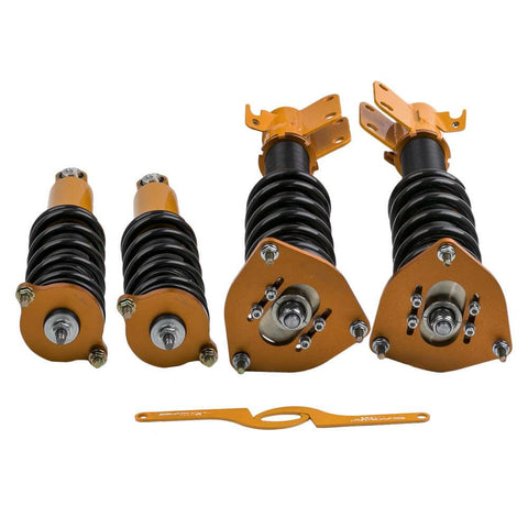 Full Assembly Coilovers for Subaru Outback 2000 01 02 03 04 Adjustable Height AP-PLUS
