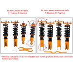 Full Coilovers Suspension Kits for Mitsubishi Eclipse 4G 06-12 Galant DJ 04-12 AP-PLUS