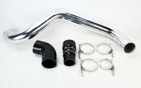 Hot Side Intercooler Pipe Kit 04-10 for Chevy GMC 6.6L Duamax Diesel LLY LBZ LMM F1 RACING