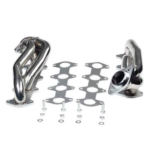 Performance Stainless Exhaust Manifold Shorty Header For Ford F150 04-10 5.4L V8 F1 Racing