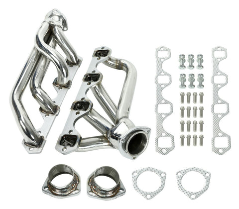 Shorty Stainless Steel Headers Exhaust Manifolds For Ford 1964-1977 260 289 302 F1 Racing