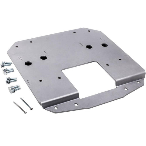 Spare Tire Carrier Relocation Bracket For Jeep Wrangler JL 10526 MaxSpeedingRods