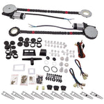 Universal Electric Power Window Lift Regulator Conversion Kit 2 Door Pickup MaxSpeedingRods