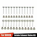 for BUICK ALLURE ENCLAVE LACROSSE 3.6L DOHC 2004-2011 Intake Exhaust Valve Kits F1 Racing