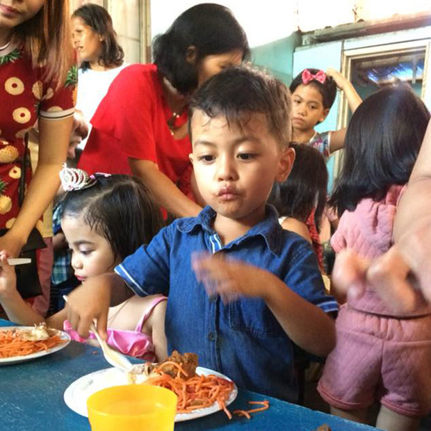 Feed Children in the Philippines