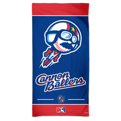 Cannon Ballers Beach Towel